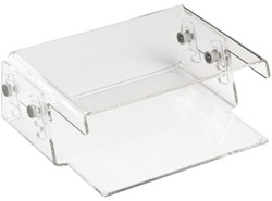 Monitorstandaard Quantore 15kg transparant