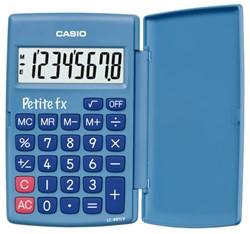 Rekenmachine Casio basisschool blauw