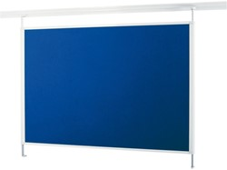 Textielbord Legaline Dynamic 100x120cm blauw