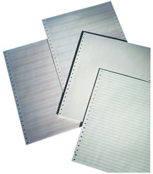 """Computerpapier 240x11"""" blanco LP 2V 60/57gr 1000vel"""