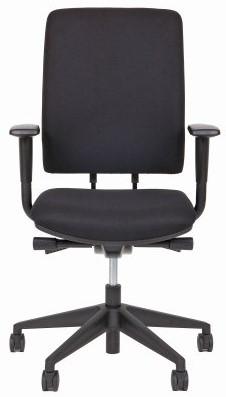 Kieft Chair A340CS in stof Oasis zwart