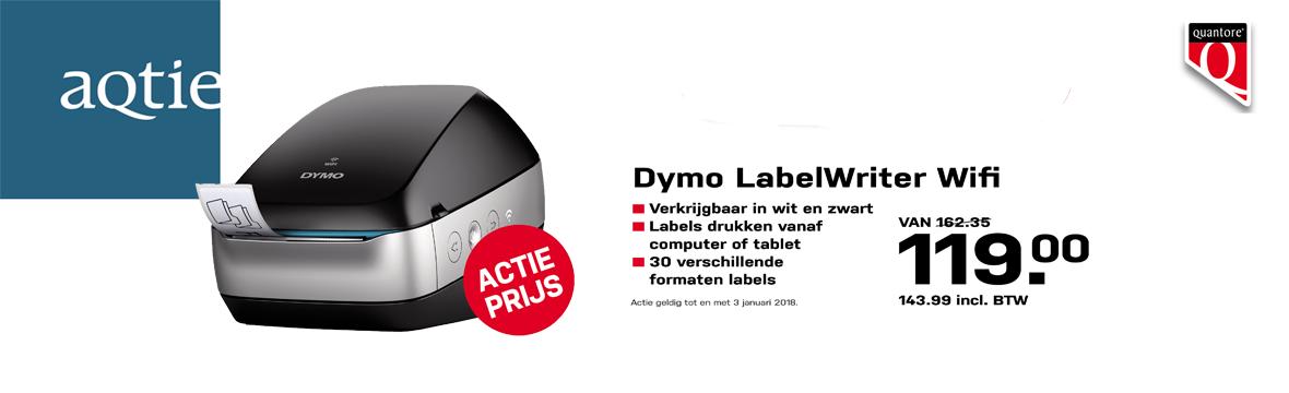 Voorpagina - Labelwriter Dymo draadloos
